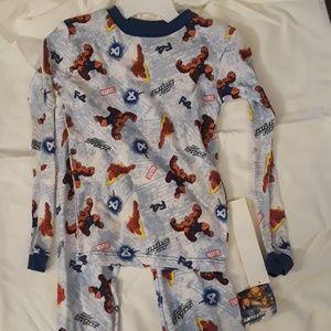New with Tags boys Marvel Fantastic Four Pajamas